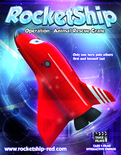 www.rocketship-red.com  The more you READ about him The more you'll KNOW him The more you LEARN from him The more places you'll GO with him - RocketShip