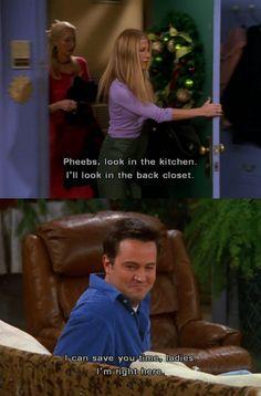 Oh, Chandler!