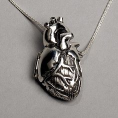 Anatomically correct heart locket, I freaking love this.