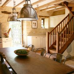 Spaces Barn Home Stairs Design, Pictures, Remodel, Decor and Ideas - page 6