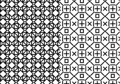 Decorative pattern with geometric shapes which can be used for your wallpapers, backgrounds, backdrop images, fabric patterns and clothing prints.