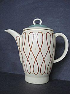 Antique Coffee Pot  Susie  Cooper Deco