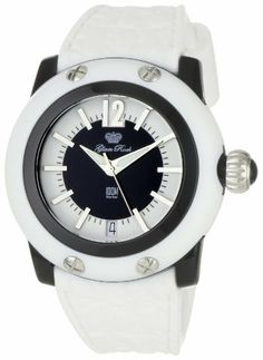 Glam Rock Women's GR23009 Miami Beach Black and White Dial White Silicone Watch Glam Rock. $78.98