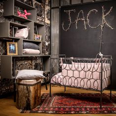 D co industrielle on pinterest loft industrial dining rooms and armoires - Chambre industriel deco ...