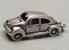 Vintage Volkswagen Car Sterling Silver Charm for your by COBAYLEY, $18.00  #Volkswagencharm #Sterlingcarcharm