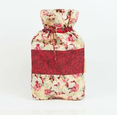 Xmas drawstring gift bag. Perfect way to wrap by MoonlightCompany