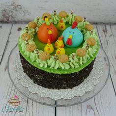 Oster Buttercreme-Torte | Easter Buttercream Cake