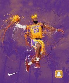 Lebron James Lakers Dunk Poster, Canvas or Banner - Fitness and Exercises, Outdoor Sport and Winter Sport Lebron James Lakers, King Lebron James, King James, Lebron James Dunk, Mvp Basketball, Basketball Legends, Lebron James Basketball, Basketball Stuff, Football Art
