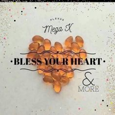 ❤️Bless your Heart❤️ Did you know that your body doesn't create the essential fatty acids that it needs? Plexus MegaX can help! ❤️Supports healthy lipid level ❤️Supports normal cholesterol and blood pressure level ❤️Support for brain health ❤️Supports healthy brain development ❤️Omega-3 fatty acids play a crucial role in brain function ❤️May have a positive effect on memory loss linked to aging ❤️Helps w stress management ❤️Aids in relaxation ❤️May be essential for optimal visual development