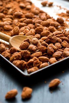 NYT Cooking: A vegan treat of homemade cinnamon and sugar coated almonds, submitted by Madeline Heising, a student at Northeastern University, is a simple yet elegant twist of salty and sweet.
