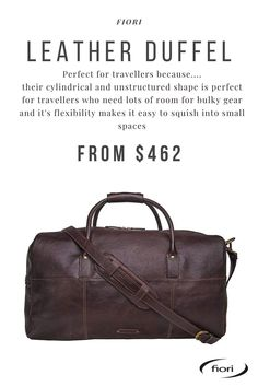Men's Leather, Duffel Bag, Travel Bags, Range, Shop, Travel Handbags, Cookers, Travel Tote, Leather Men