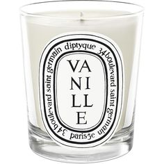 Diptyque Vanille Candle/2.4 oz. (2.260 RUB) ❤ liked on Polyvore featuring home, home decor, candles & candleholders, candles, fillers, decor, extras, apparel & accessories, no color and diptyque