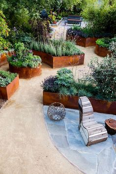 10 Design Ideas for a Tiny Edible Garden | This garden has a secret: Virtually every plant in it can be put on your plate or in a vase. It doesn't look like a typical edible garden, which is exactly the point
