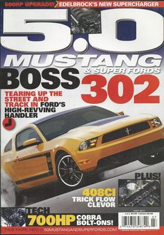 5.0 Mustang and Super Fords magazine