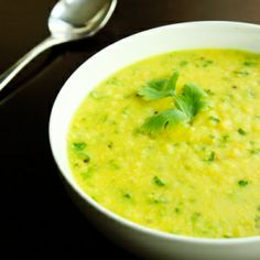 Urad Dal Soup w/ Onions & Garlic (vegan, gluten-free)