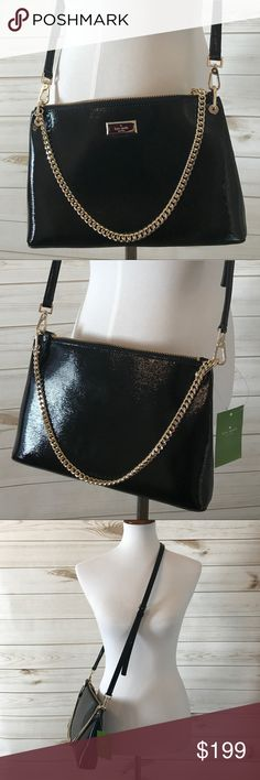 Kate Spade Black Cross body Brand New - Great Condition - Bixby Place Black Crossbody - NWT kate spade Bags