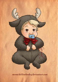 Baby Kristoff By Moonchildinthesky by moonchildinthesky on deviantART