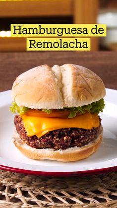 Veggie Recipes, Mexican Food Recipes, Vegetarian Recipes, Healthy Recipes, Easy Cooking, Cooking Recipes, Comida Diy, Beet Burger, Tastemade Recipes