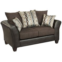 Flash Furniture Riverstone Rip Sable Chenille Loveseat Brown *** Be sure to check out this awesome product.