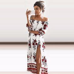 Angelina's Maxi Dress
