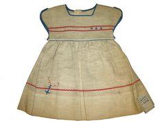 Nanette girl's dress. Circa 1940.