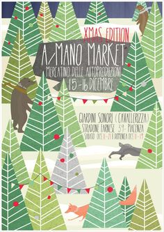 A/Mano Market flyer Personal work