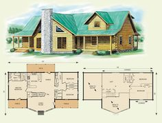5 Bedroom Log Cabin House Plans Log Home House Plans With Loft Home Deco Plans, Hawks Nest Log Home And Log Cabin Floor Plan Home Style, 6 Bedroom Log Home Plans, Cabin Plans With Loft, Loft Floor Plans, Log Cabin Floor Plans, House Plan With Loft, Cabin Loft, Log Home Plans, House Floor Plans, Barn Plans, Cozy Cabin