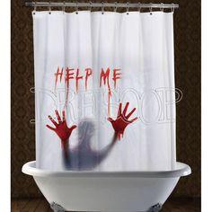 """Cortina de ducha """" Help me !"""" - Dresoop.es"""
