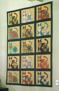Free Quilt Patterns, Free Easy Quilt Patterns Perfect for ... : free cat quilt patterns download - Adamdwight.com