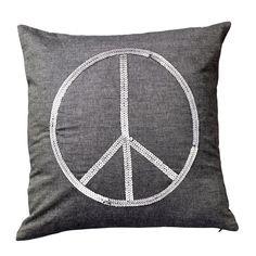 Bloomingville Kissen Peace