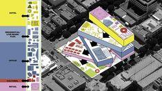 OMA santa monica plaza diagram
