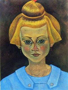Portrait of a Young Girl, Joan Miro