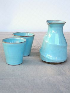 Hey, I found this really awesome Etsy listing at https://www.etsy.com/listing/399973331/turquoise-carafe-water-carafe-ceramic