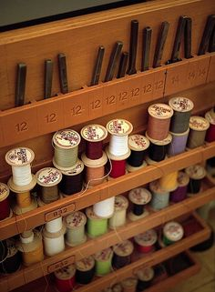 Hermès leather workshop. And all the colours of the rainbow! Photo: Jérôme Galland