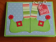 Christmas card by DaisyCreationsbyJess on Etsy, $3.50