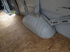 I finally got around to starting on the flooring in the She-Beast today. I've been distracted trying to ensure the cab area isn't leaking water (which it still is), but it has irritated… Cargo Van Conversion, Camper Van Conversion Diy, 4x4 Camper Van, Astro Van, Sprinter Camper, Mercedes Sprinter, Transit Custom, Bus Living, Camper Makeover