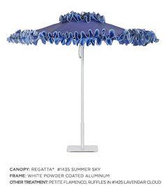 Petite Flamenco™ Umbrella I Santa Barbara Designs at Hoff Miller.