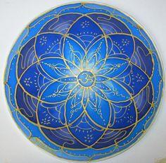 Blue chakra mandala artspiritual giftThroat by HeavenOnEarthSilks Mandala Art, Lotus Mandala, Mandala Bleu, Mandala Drawing, Flower Mandala, My Flower, Blue Chakra, Iranian Art, Crown Chakra