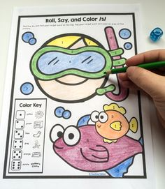 Print and Go Articulation speech therapy activities - perfect for summer homework packets!
