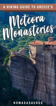 You do NOT want to miss the incredible monasteries of Meteora Greece. Here's a travel a hiking guide so you can see them in person! Mykonos, Santorini, Hiking Guide, Hiking Tours, Hiking Trails, Hiking Gear, Hiking Europe, Europe Travel Guide, Travel Guides