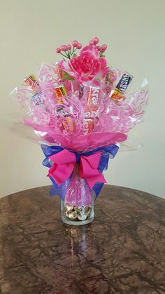 Candy Bouquet - Great for Mother's Day Www.myserenityj.com