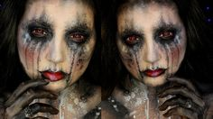 Dark Goddess Halloween Makeup Tutorial | Jordan Hanz / Alex Faction / So...
