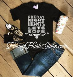 Friday Night Lights Lets Rope Tee