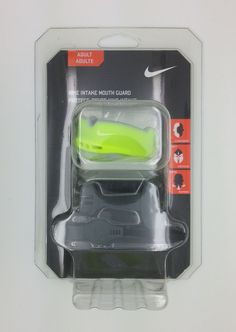 NIKE ADULT INTAKE MOUTH GUARD VOLT FIT PROTECT BREATHE (ADULT) -- NEW #Nike