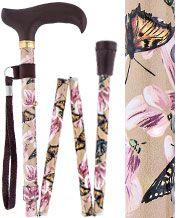 Folding Walking Canes for Women - Folding Ladies Canes | Fashionablecanes.com