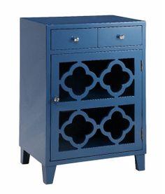 Stein World Blue accent table - Table bleu http://meubleslinton.com