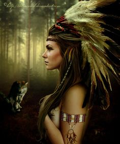 Native American Art | Native american by ~thornevald on deviantART