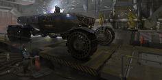Heavy Martian Rover by Adrien Girod | Sci-Fi | 2D | CGSociety
