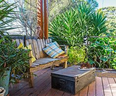 Take a tour of a truly fun backyard at a family home on the Mornington Peninsula, made with recycled materials, creative craftsmanship and a lot of imagination.