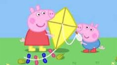 135275750a Image result for peppa PIG AND GEORGE KITE FLYING